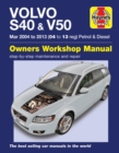 Volvo S40 & V50 Petrol & Diesel (Mar 04 -03) 04 to 13 - Book