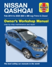 Nissan Qashqai Petrol & Diesel (Feb '14-'20) 63 to 69 - Book