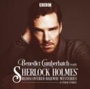 Benedict Cumberbatch Reads Sherlock Holmes' Rediscovered Railway Mysteries : Four Original Short Stories - Book