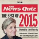 The News Quiz: Best of 2015 : BBC Radio Comedy - eAudiobook