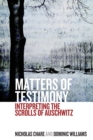 Matters of Testimony : Interpreting the Scrolls of Auschwitz - Book