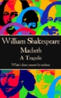 "Macbeth : ""What's done cannot be undone."" - eBook"