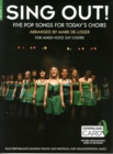 Sing Out] 5 Pop Songs For Today's Choirs - Book 1 (Book/Audio Download) - Book