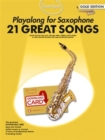 Guest Spot : Playalong For Alto Saxophone - Gold Edition (Book/Audio Download) - Book