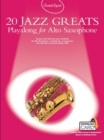 Guest Spot : 20 Jazz Greats Playalong For Alto Saxophone (Book/Audio Download) - Book