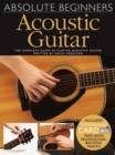 Absolute Beginners : Acoustic Guitar (Book/Audio Download) - Book