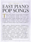 The Library of Easy Piano Pop Songs - Book