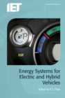 Energy Systems for Electric and Hybrid Vehicles - Book