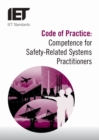Code of Practice: Competence for Safety Related Systems Practitioners - Book