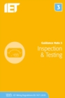Guidance Note 3: Inspection & Testing - Book