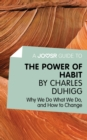 A Joosr Guide to... The Power of Habit by Charles Duhigg : Why We Do What We Do, and How to Change - eBook