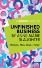 A Joosr Guide to... Unfinished Business by Anne-Marie Slaughter : Women, Men, Work, Family - eBook