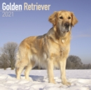 Golden Retriever 2021 Wall Calendar - Book