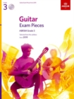 Guitar Exam Pieces from 2019, ABRSM Grade 3, with CD : Selected from the syllabus starting 2019 - Book