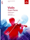 Violin Exam Pieces 2020-2023, ABRSM Grade 5, Part : Selected from the 2020-2023 syllabus - Book