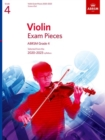 Violin Exam Pieces 2020-2023, ABRSM Grade 4, Score & Part : Selected from the 2020-2023 syllabus - Book