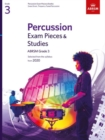 Percussion Exam Pieces & Studies Grade 3 : From 2020 - Book