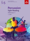 Percussion Sight-Reading, ABRSM Grades 1-5 : from 2020 - Book