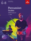 Percussion Studies, ABRSM Grades 6-8 : from 2020 - Book