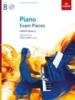 Piano Exam Pieces 2021 & 2022, ABRSM Grade 8, with 2 CDs : Selected from the 2021 & 2022 syllabus - Book