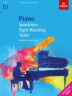 Piano Specimen Sight-Reading Tests, Initial Grade - Book