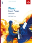 Piano Exam Pieces 2021 & 2022, ABRSM Grade 1 : Selected from the 2021 & 2022 syllabus - Book
