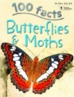 100 Facts Butterflies & Moths - Book