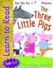 Get Set Go Learn to Read: Three Little Pigs - Book