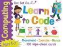 Get Set Go Computing: Learn to Code Cards - Book