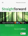 Straightforward 2nd Edition Upper Intermediate + eBook Student's Pack - Book