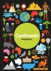 Infographics: Continents - Book