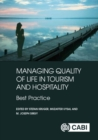 Managing Quality of Life in Tourism and Hospitality - Book
