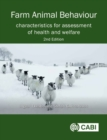Farm Animal Behaviour : Characteristics for Assessment of Health and Welfare - Book
