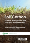 Soil Carbon : Science, Management and Policy for Multiple Benefits - Book