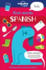 First Words - Spanish - Book