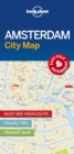 Lonely Planet Amsterdam City Map - Book