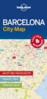 Lonely Planet Barcelona City Map - Book
