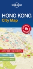 Lonely Planet Hong Kong City Map - Book