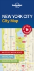 Lonely Planet New York City Map - Book