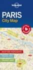 Lonely Planet Paris City Map - Book