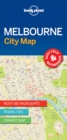 Lonely Planet Melbourne City Map - Book