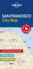 Lonely Planet San Francisco City Map - Book