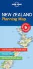 Lonely Planet New Zealand Planning Map - Book