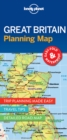 Lonely Planet Great Britain Planning Map - Book