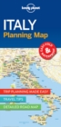 Lonely Planet Italy Planning Map - Book