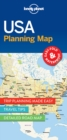 Lonely Planet USA Planning Map - Book
