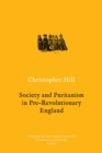 Society and Puritanism in Pre-revolutionary England - Book