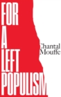 For a Left Populism - eBook
