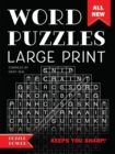 Word Puzzles Large Print : Word Play Twists and Challenges - Book