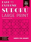 Easy to Extreme Sudoku Large Print (Pink) : Keeps You Sharp - Book